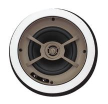 "Power Handling: 175 Watts Frequency Response: 28Hz - 22kHz Sensitivity: 92dB 1W/1m Diameter x Depth: 111/8"" x 41/4"" Ceiling Cut Out: 93/4"" C800 One pair of ceiling speakers with 8"" graphite woofers,"