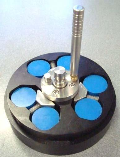 This minimizes the volume of material to be removed from all samples and saves time when establishing a common grinding plane ( planarizing the samples).