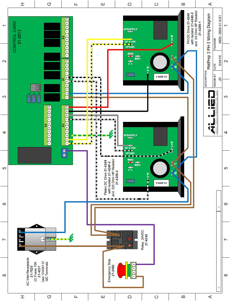 Wiring Diagrams Allied High Tech Products, Inc.