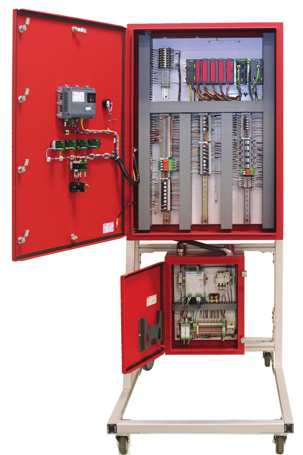 FGS1300 Fire & Gas Alarm & Control System Features The FGS1300 provides fire and gas monitoring, and suppression control for modules in remote locations that have less than 40 I/O.