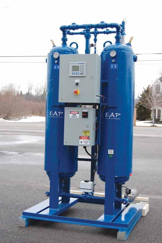 Moisture in compressed air is damaging. Without proper treatment, this vital energy source is a wet, gritty, acidic brew, silently destroying all that it comes in contact with.