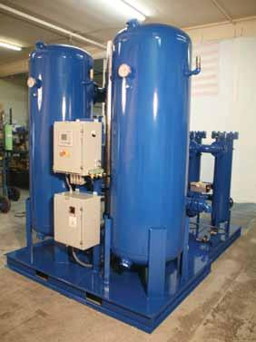 By installing an Eastern Air HR Externally Heated or HB Blower Purge dryer Eliminate Water from Your Compressed Air System In today s competitive industrial markets, dry compressed air is a necessity