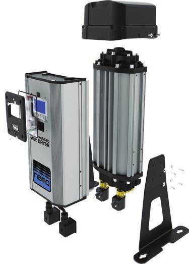 nano D 1 2 3 compressed air dryers Clean and dry compressed air is easily achieved with nano ultra-high purity compressed air dryers.
