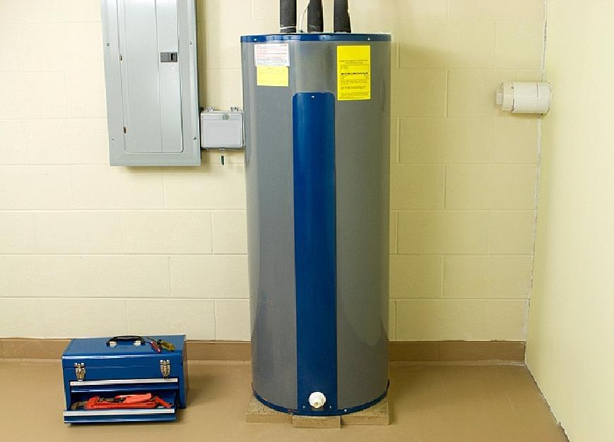 Storage Water Heaters A storage water heater means a product which heats and stores water at a thermostatically controlled temperature.