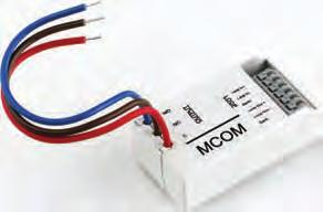 The MCOM is a single output, soft addressed, micro interface, incorporating integral short circuit isolators. It is extremely compact and therefore ideal for incorporation into other equipment.