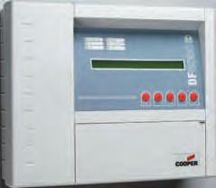 When loop connected the repeater panel will display the system information text of the connected control panel and will provide a fire indication, with panel number, of any connected network control