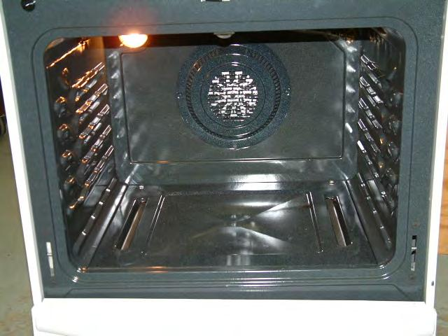 New wide oven cavity