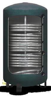boiler as back-up Any other back-up type can be used - Pulsatoire boiler - electrical element in tank - solar thermal