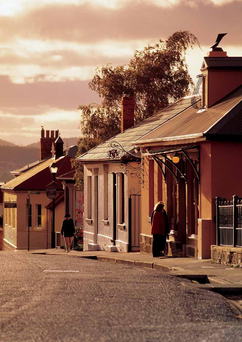 Vision Hobart 2025 In 2025 Hobart will be a city that: offers opportunities for all ages and a city for life; is recognised for its natural beauty and quality of environment; is well-governed at