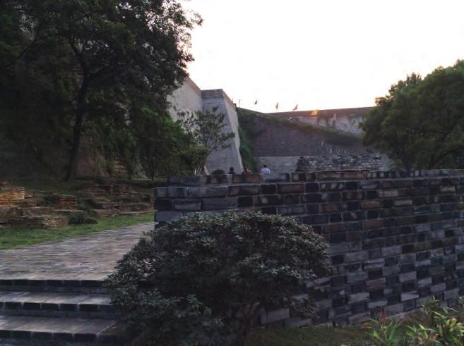 The City Wall near the Gate of China (photo by author) Finally, the feeling of history is not necessary to limit modern human mind; in the contrary, it can afford more freedom to the residents in