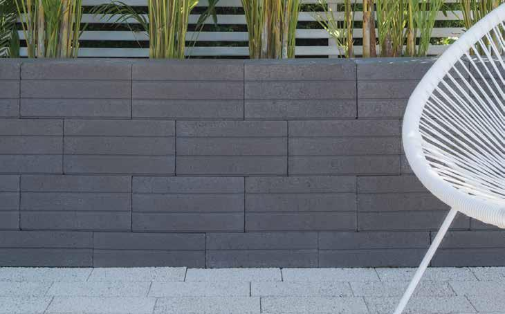 NU-LINE LIGHT WEIGHT STYLE RECOMMENDED USE Economy retaining wall that ticks all the right boxes: it s lightweight, cost-effective and hassle free. Straight walls and corners.