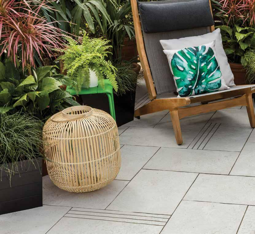 Always look at pavers outside in the natural light. Select pavers that match internal floor coverings to ensure the transition from indoor out is subtle and blends with your decorating style.