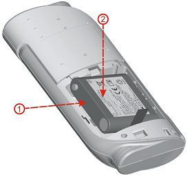 Introduction To install the rechargeable Ni-MH battery package: 1. Make sure the oximeter is turned off. 2. Press the battery compartment latch and remove the battery access door. 3.