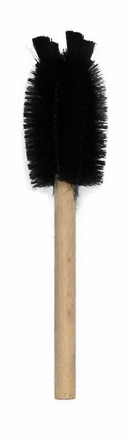 Total length: 510mm (20 ) Brush length: 150mm (6 ) Brush diameter: 60mm (2.
