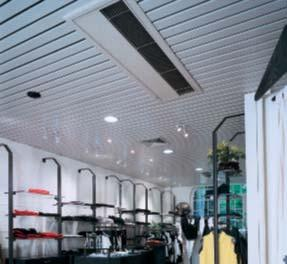 FBQ-B7 / RS-B Concealed ceiling unit FBQ50B7 RS50,60B Lightweight and compact Blends unobtrusively with any interior décor The position of the individual air discharge grilles can be altered,