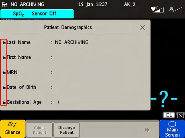 8 Admitting and Discharging New Patient Check The fetal monitor can be configured to ask you in certain situations: after a specified power-off period after a specified standby period whether a new