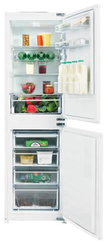Heavy duty metal hinges Clear freezer fronts Reversible door Manual defrost - Save up to 24% in energy costs compared to A rated models. zer: 87 H: 82cm W: 59.8cm D: 54.