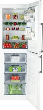 Antibacterial door seals Chrome wire rack Chrome coated bottle retainer Twist and serve ice cube maker Two large salad