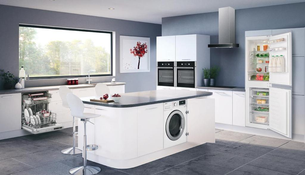 Main cavity: Gas oven Discover the Blomberg range of tasteful and modern built-in appliances.