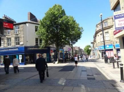 Overall this is an urban area but one that is not oppressive. Partly this is due to the changing topography, which often permits views to the surrounding countryside. Lancaster Square Routes scheme.