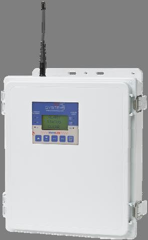 enclosure (shown) or poly enclosure D-cell lithium battery powered for up to 9 months toxic/oxygen and 6 months LEL operation Available for both 900Mhz and 2.