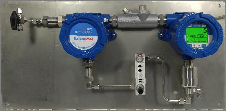 ENGINEERED PRODUCTS & SOLUTIONS Sampling Systems SampleSmart XP Sample Draw Gas Detection System The field tested and proven sampling system provides accurate and continuous measurement of