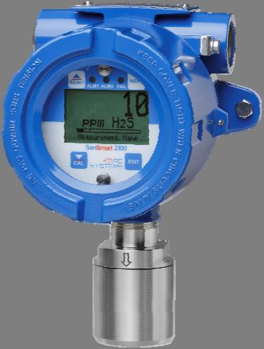 transmitter 2-Wire 4-20mA loop powered gas detector monitors oxygen and toxic gases by offering a wide variety of Electrochemical gas sensors