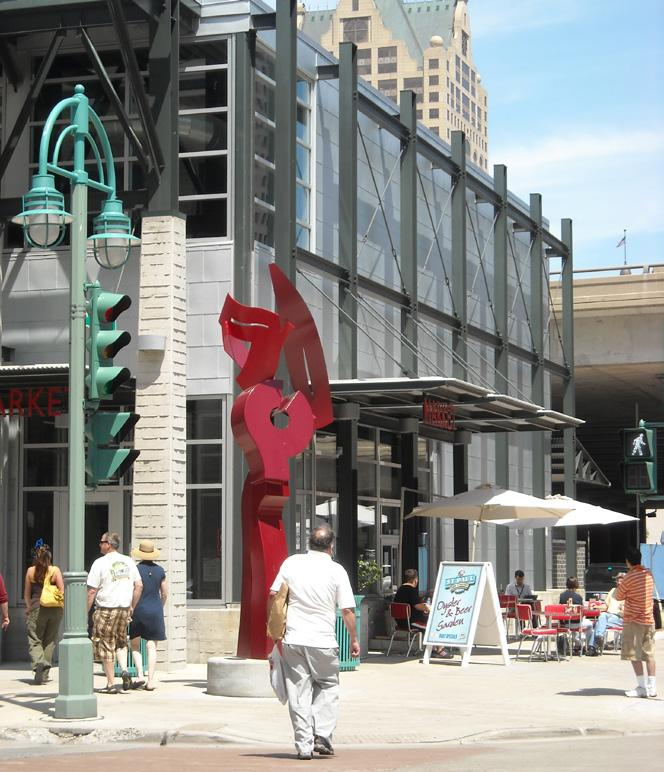 2018 Public art includes decorative and functional features that are accessible or visible to the public.