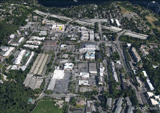 Town Center (part of the Comprehensive Plan) Mercer Island Town Center Looking North (2014) In 1994, a year-long process culminated in a set of design guidelines and code requirements for the Town