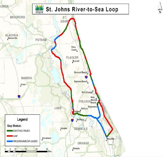 St. Johns River-to-Sea Loop St.