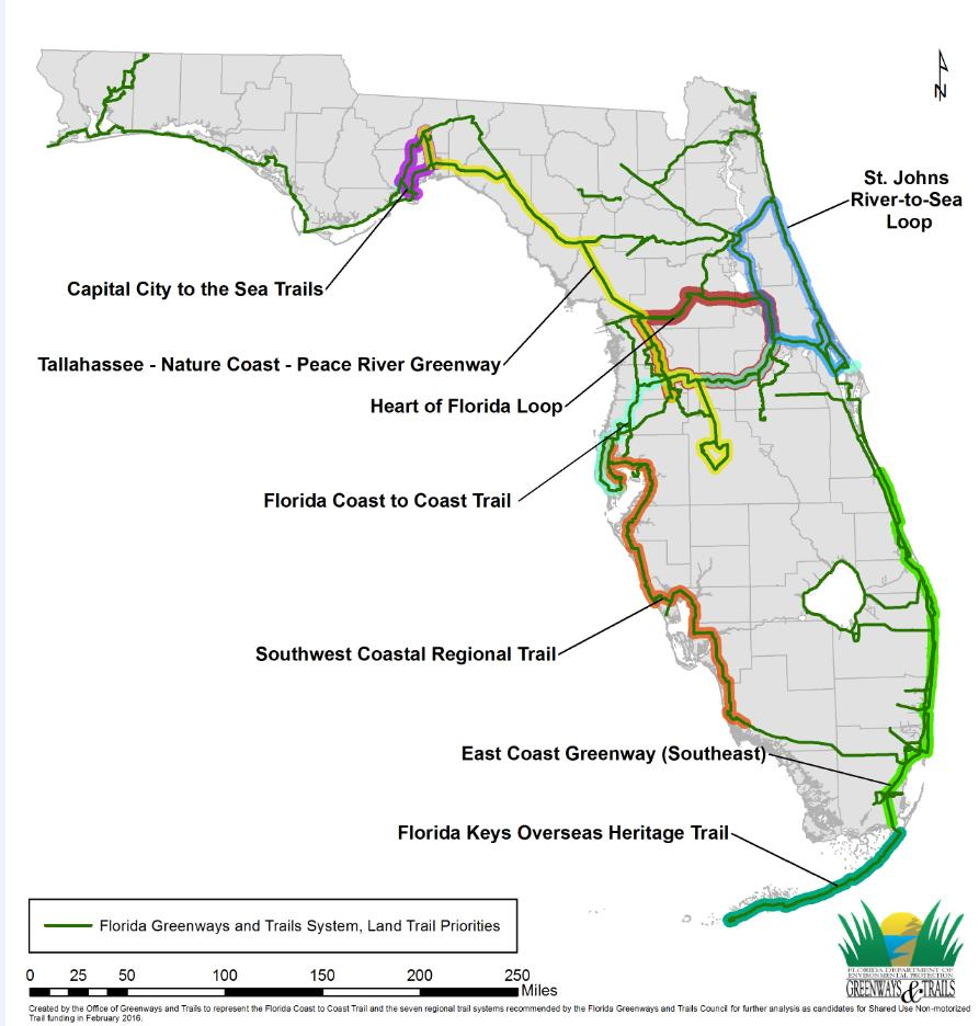 Priority regional trail for