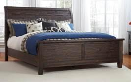 Upholstered Bed (78/95) Queen Poster Bed (54/57) Queen Upholstered Bed (74/77) Solid Wood B658 Trudell (Signature Design) Solid pine wood group in a vintage casual design Finished in a weathered