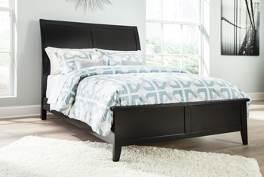 overlay fronts Drawers are paper wrapped for a smooth interior surface and have metal center guides Beds available: King Bed (82/97) Cal King Bed (82/94) Queen Bed