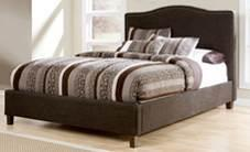 B600 Upholstered Beds (Signature Design) Wood framed beds are fully upholstered in woven fabrics Low profile footboard