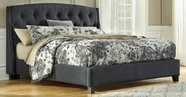King Velvet Gray (656/658/697) Cal King Velvet Gray (656/658/694) Queen Velvet Gray (654/657/696) Note: All headboards can
