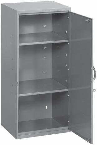 STORAGE CABINETS SOSMETAL PRODUCTS INC. For storing a wide variety of small parts.