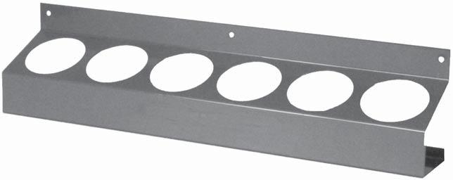 RACKS 2 ROD WIRE SPOOL RACK Ideal for counter top use. Heavy duty metal construction.