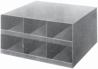 Cabinet Size: 16-1/8 wide x 18-1/2 deep x 8-1/8 high. Part No. 12013 Part No.