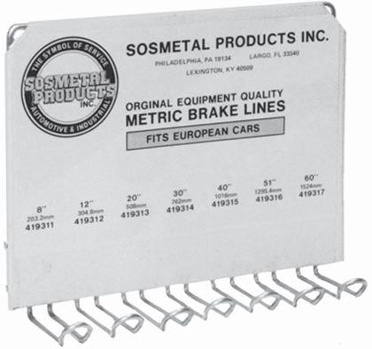 about our Safety Certified hydraulic brake lines.