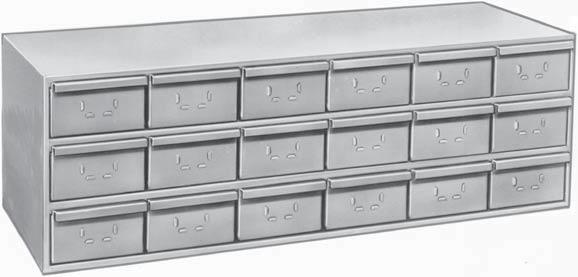 DRAWER CABINETS and ACCESSORIES DRAWER CABINETS Designed as heavy duty units for storing a