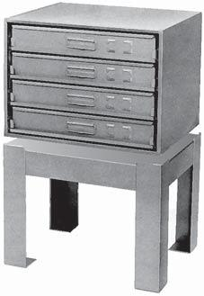 12131 to be used with 4 drawer racks listed below. Keeps drawers secure in service trucks. LOCKING HINGES For 4 drawer racks. Locks drawers in place.