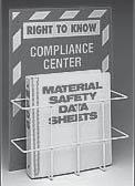 RIGHT TO KNOW COMPLIANCE CENTER and ACCESSORIES For Compliance with OSHA s Hazard Communication Standard Organize MSDS Sheets in One Place RIGHT TO KNOW COMPLIANCE CENTER