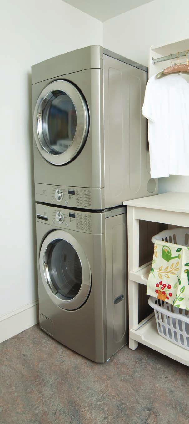 If you are in the market for a new washer, consider buying ENERGY STAR equipment. Choose the lowest appropriate water temperature.