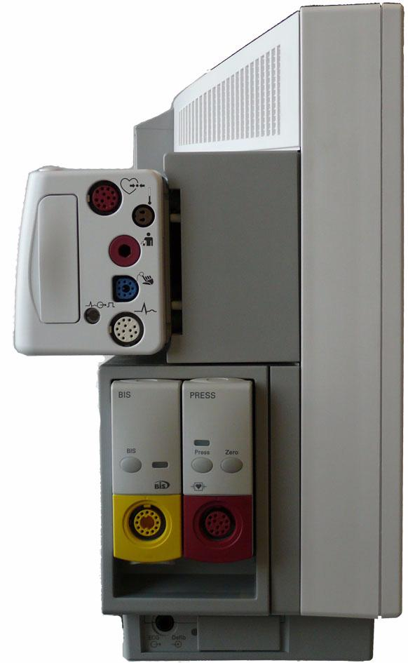 1 Installation Connecting the Monitor to AC Mains Host Monitor as Power Source When connected to a host monitor, via the