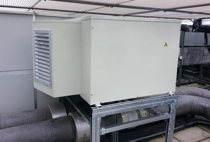 VAM-FC Weather Proof Enclosures for VAM Total Heat Exchangers If you need to install a VAM unit outside of a building then they need to be weatherproofed as they are designed for installation