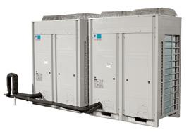 LREQ-BY1 Multi-ZEAS Condensing Units The Multi-ZEAS units deliver the higher capacities required for larger supermarkets, food storage and processing plants, while reducing energy consumption by 35%,