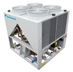 HSH/M/L 31 - HA Industrial Condensing Units with Screw Compressor Condensing unit for industrial refrigeration > High energy efficiency: inverter controlled compressor, economiser, high performance