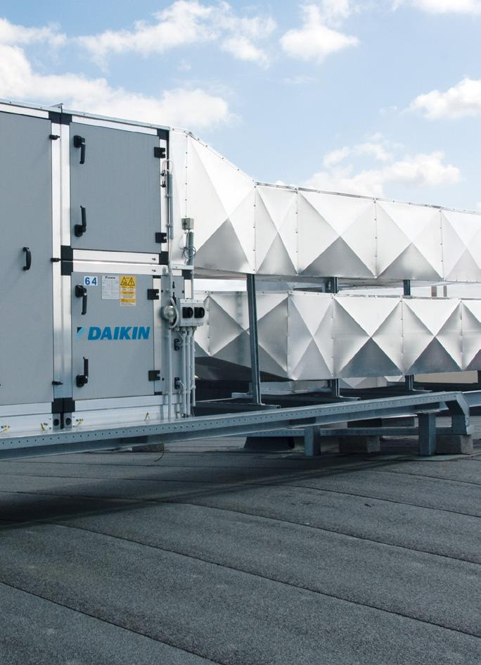 Daikin Air Handling Units APPLIED Daikin air handling units, with their plug-and-play design and inherent flexibility, can be configured and combined specifically to meet the exact requirements of