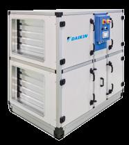 ADT-F/B Air Handling Units Modular AHU with high efficiency heat recovery Energy efficiency and indoor air quality > Predefined sizes > IE4 premium efficiency motor > High efficiency heat wheel (heat
