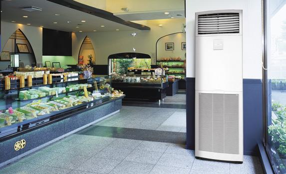 FVQ-C / RZQSG-L Floor Standing Seasonal Classic Indoor Units Single Phase 3 Phase FVQ71C FVQ100C FVQ125C FVQ140C FVQ100C FVQ125C FVQ140C Capacity UK Total Cooling kw 7.28 10.80 13.60 14.